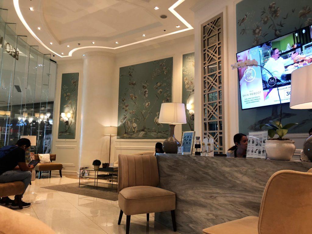 Belo Medical Group Lobby Interior S Maison